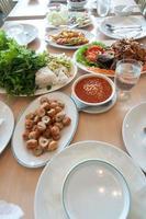 estilo de comida vietnamita; naemnueng
