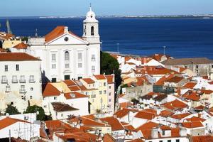 vista da cidade de Lisboa
