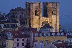 catedral de s. Maria em Lisboa