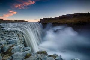 dettifoss, islândia foto