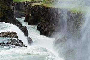 cachoeira gullfoss foto