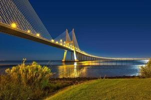pont vasco de gama lisbonne portugal foto