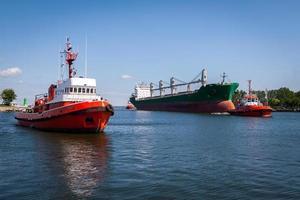 porto de gdansk, polônia.