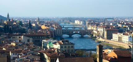 ponte vecchio, florença foto