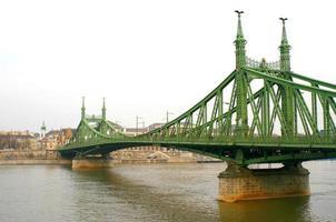a ponte da liberdade em budapeste