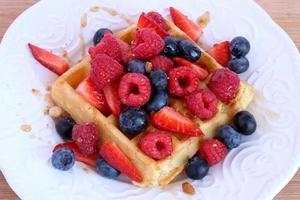 waffle belga foto