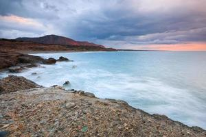 praia em creta, grécia.