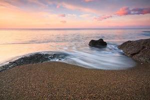 praia em creta, grécia. foto
