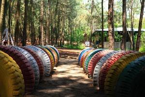 os pneus no resort