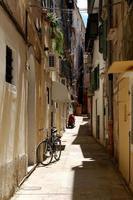 rua estreita grega