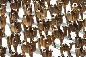 camelos de madeira