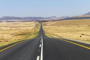 estrada reta foto