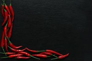 pimentas vermelhas foto
