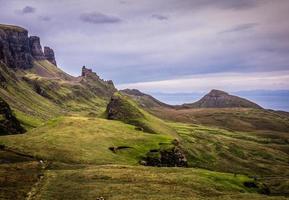 Quiraing, Ilha de Skye, Escócia foto