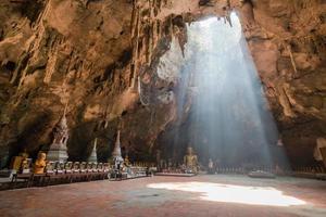 caverna de luz foto
