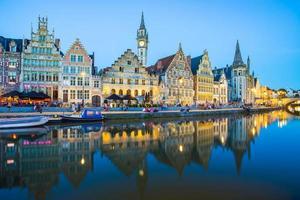 Gante, a cidade medieval da Bélgica