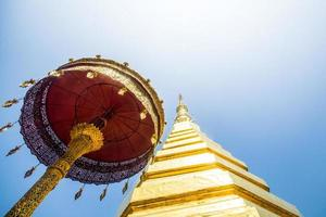 pagode dourado, wat phra that cho hae