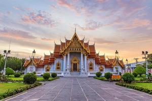 wat benchamabophit, o templo de mármore, bangkok