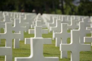 cemitério americano em Colleville foto