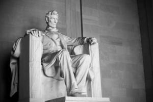 estátua de abraham lincoln foto
