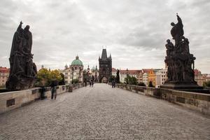ponte de charles em praga, república checa foto