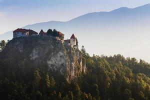 lago sangrado, eslovênia, europa foto