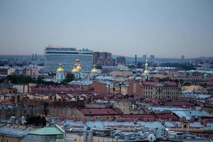 panorama de São Petersburgo foto