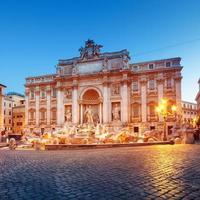 fonte de trevi, roma - itália,