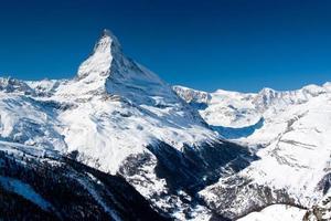 pico de matterhorn, zermatt, suíça