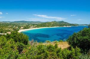 costa sul da Sardenha foto