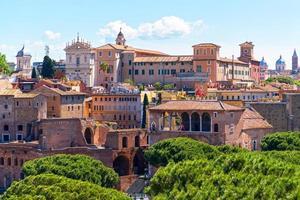 paisagem urbana de roma, itália