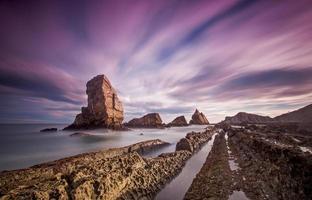 playa de arnia foto