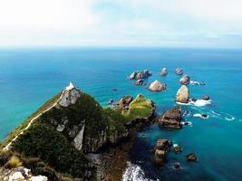 pequenas ilhas na nova zelândia foto