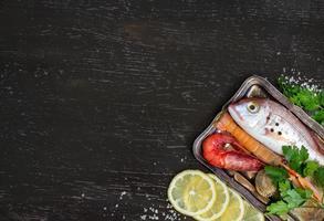 peixe fresco e marisco