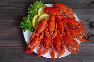 comida lagosta cozida