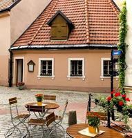 cafetaria em riga, letónia foto