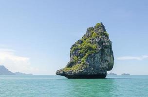 parque nacional marinho de angthong, koh samui, suratthani, tailândia foto