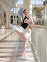 bailarina, várias poses