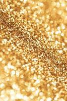 bokeh dourado brilhante