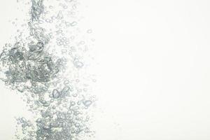 bolhas na água