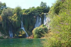 pitorescas cachoeiras kravica, Bósnia e Herzegovina