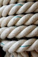 corda e cânhamo para escada de corda ou para atracar navios