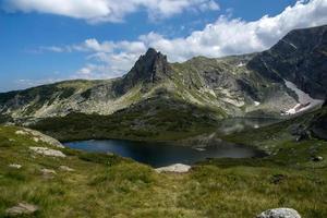 o gêmeo, os sete lagos rila, montanha rila, bulgária