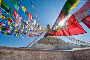 boudhanath stupa foto