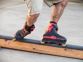 patinador inline foto