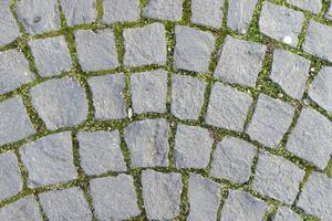 pavimento de pedra cúbica