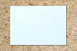 fundo de papel branco isolado