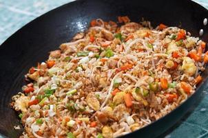 arroz chinês foto
