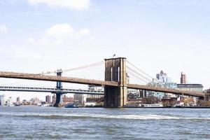brooklyn, ny, 2020 - ponte de brooklyn durante o dia