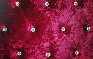 fundo de textura de sofá vermelho foto